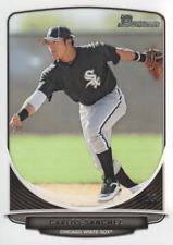 2013 Bowman Baseball Prospects #BP109 Carlos Sanchez Chicago White Sox