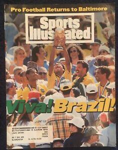 July 25,1994 SOCCER '94 Sports Illustrated World Cup BRAZIL Futbol