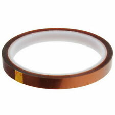 10 HEAT TRANSFER RESISTANT TAPE ADHESIVE 8mm x 33m POLYIMIDE for SUBLIMATION MUG