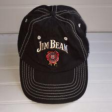 Jim Beam Style Master Bourban Hat Cap, Adjustable, Dark Grey Color, Cotton