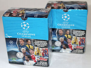Topps Champions League 2016/2017 16/17 - 2 X Display Box 100 Bags Packets