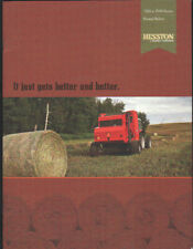 Massey Ferguson Hesston 1700 & 2900 Series Round Balers Brochure Leaflet