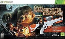 Microsoft Xbox 360 Hunting Video Games with Multiplayer