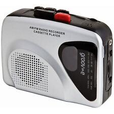 Groov-e GVPS525SR Retro Series Personal Cassette Player/Recorder with Radio