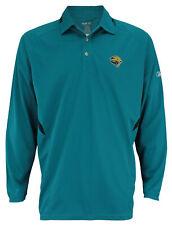 Reebok NFL Men's Jacksonville Jaguars Long Sleeve Polo Shirt, Teal