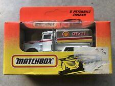 Matchbox 1993 #5 Peterbilt Tanker 'Shell' New In Unopened Box