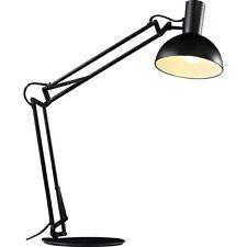 Designer Tischleuchte Klemmleuchte Wandleuchte Arki Nordlux E27 schwarz H52cm