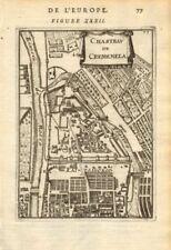 MOSCOW ??????. Chasteau de Cremenela (Kremlin ??????). Russia. MALLET 1683 map