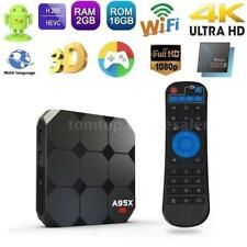 A95X R2 2GB+16GB Android 7.1 TV BOX S905W Quad Core 2.4GHz HD WiFi 4K 3D Media