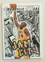 1997-98 Shaquille O'Neal Fleer Ultra Jam City insert card #8. Lakers. Nice One!