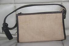 Authentic Ralph Lauren woven Wristlet Wallet