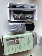 NOS Grundig Mini 300 World Band Receiver Handheld Pocket SW/FM Portable Radio