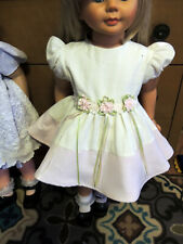 True Vintage Easter Linen Dress for Penny Patti Penny & Other Play Pals