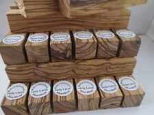 10 ~PREMIUM QUALITY~BETHLEHEM FIGURED Olive Wood Pen Turning Blanks