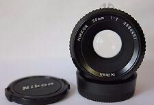 Nikon NIKKOR 50mm F2 ai primi STANDARD LENS.
