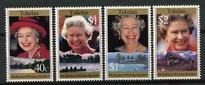 Tokelau 1996 SG#240-3 QEII 70th Birthday MNH Set #A78739