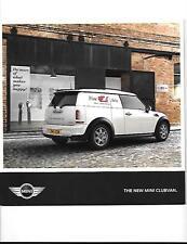 """""""nuevo"""" Mini Clubvan folleto de ventas para 2013 de junio de 2012"""