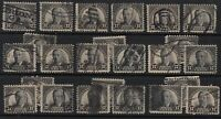 1931 Wilson Sc 697 used singles lot of 24