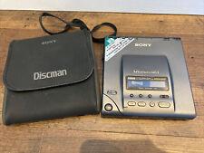 UNTESTED SONY Discman D-303 Sony Discman Personal CD Player w Case