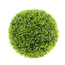 1pc 27cm Artificial Topiary House Plants Ball Pool Patio Garden Porch Green