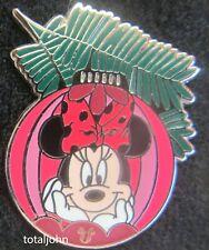Disney DLR - 2010 Hidden Mickey Christmas Ornament Collection Minnie Pin
