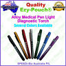 Alloy Doctor Nurse Pupil Gauge Diagnostic Medical Penlight Pen light Neuro Torch