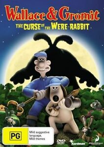 Wallace & Gromit DVD - The Curse of the Were-Rabbit