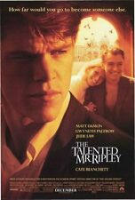 Talented Mr. Ripley -1999- orig D/S Us 27x40 movie poster - Matt Damon, Jude Law