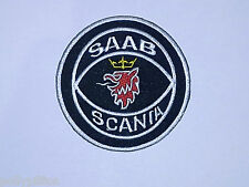 SAAB CARS GRIFFIN SWEDEN SCANIA COAT OF ARMS SEW/IRON ON PATCH (a)