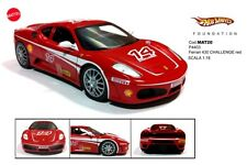 1:18 HOT WHEELS AUTO DIE CAST F 430 CHALLENGE P4403