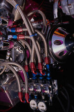 667075 Nitrous Oxide System On A Chevrolet Small Block Engine A4 Photo Print