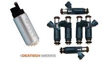 Deatschwerks DW200 255LPH Fuel Pump & 600cc Injectors for 2003-2009 Nissan 350Z