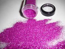 D00486   PREMIUM Grade Ultra Fine Glitter-Metlic Raspberry, ooak wings ooak doll