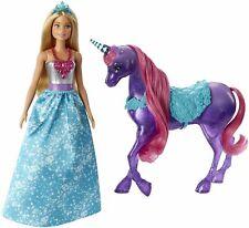 Mattel Barbie Dreamtopia Princess Doll and Purple Unicorn