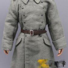 1/6 Soldier Model World War II German Black Lather Belt Decoration Accessories