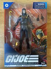 GI JOE CLASSIFIED SERIES 6? Inch Cobra Commander Action Figure No. 6