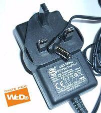 SWITCHING ADAPTER POWER SUPPLY S012BB0900100 9V 1000mA UK PLUG