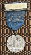 Municipal Group of Springfield, Mass Medal Grand Court of Mass Foresters 1920