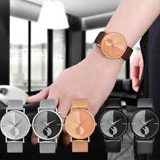 Unisex uhr Armbanduhr Quarzuhr Analoguhr Meshband  Geschenk Modeschmuck