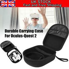 More details for for oculus quest 2 vr travel carrying case waterproof vr headset bag storage eva