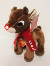 """Rudolph the Red-Nosed Reindeer 12"""" Musical Lights Plush Christmas Gift Toy New"""