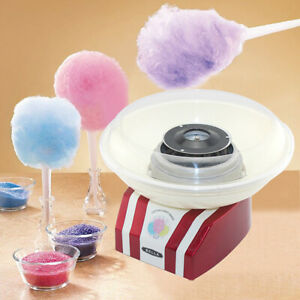 Home Electric Cotton Candy Machine Sugar Floss Maker Pink Hard Candies Party