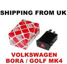 Indicatore della luci di emergenza Relè Interruttore TASTO ROSSO VW Bora Golf MK4 IV Febi