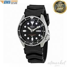 Seiko SKX007J1 Analog Japanese-Automatic  Black Rubber Diver's Watch from JAPAN