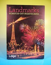 Scratch-Off NightScapes: Landmarks by Lago Lago Design (2016, Paperback) MINT