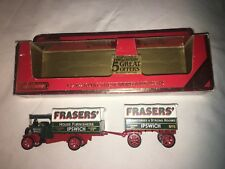 1922 Foden 'C' Type Steam Wagon And Trailer Limited Edition Matchbox - Y-27 1986