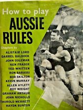 VFL BOOK Norm Smith, John Coleman, Ted Whitten, Ron Barassi, Bob Skilton 1960