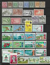 3 scans-Collection of MINT Cayman Islands stamps.