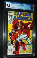 CAPTAIN AMERICA #341 1988 Marvel Comics CGC 9.6 NM+ White Pages