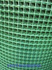 """RETE PLASTICA VERDE """"TENAX"""" ECOQUADRA PER BALCONI RECINZIONI H 1 MT x 10 MT"""